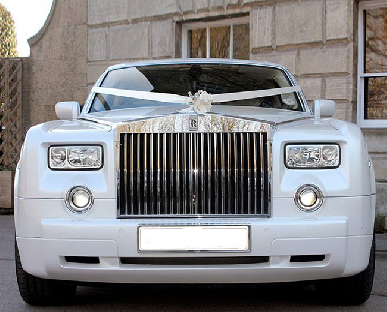 Rolls Royce Phantom - White hire